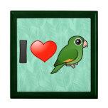 I Love Golden-winged Parakeets Gift Box