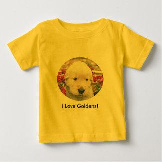 I Love Goldens! Baby T-Shirt