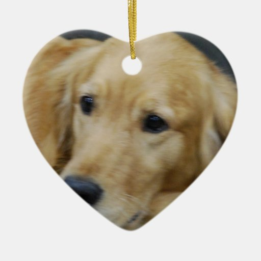 I Love Goldens Ornament