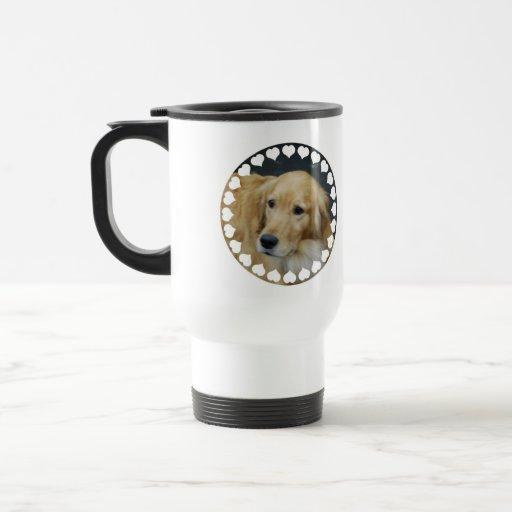 I Love Goldens Travel Mug