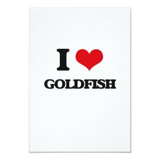 I love Goldfish Personalized Invitation