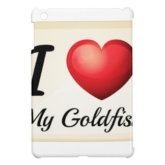 I love goldfish iPad mini covers