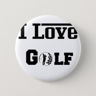 I Love Golf 2 Button