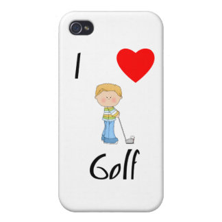 I Love Golf 2 Cover For iPhone 4