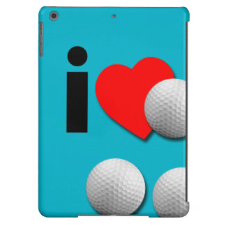 I Love Golf... Add Your Own Colors. Case For iPad Air