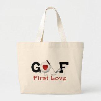 I Love Golf bag