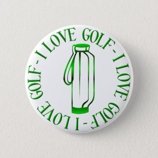I love golf! button
