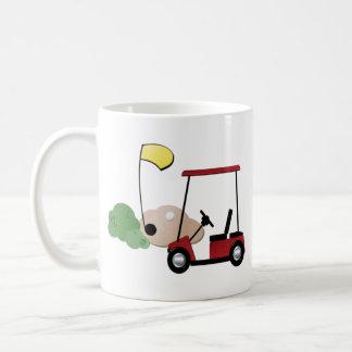 I love Golf Classic White Coffee Mug