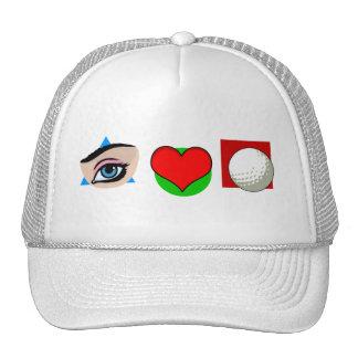 I love golf hats