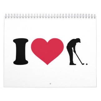 I love golf player calendar