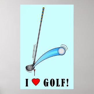 I Love Golf! Poster