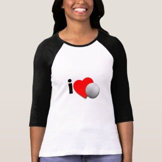 I love Golf T-shirts