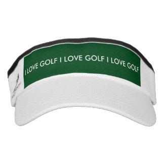 I Love Golf Visor