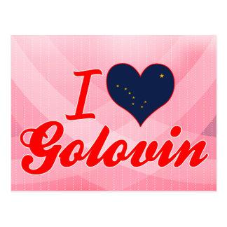 I Love Golovin, Alaska Post Card