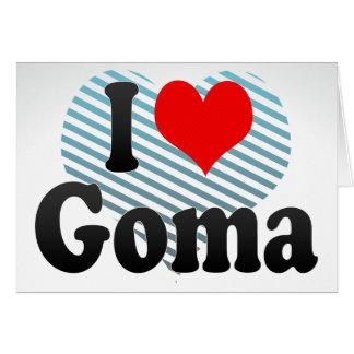 I Love Goma, Congo Cards