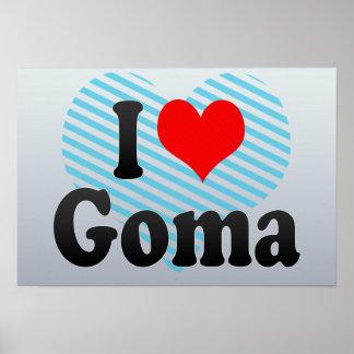 I Love Goma, Congo Print