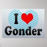 I Love Gonder, Ethiopia Poster