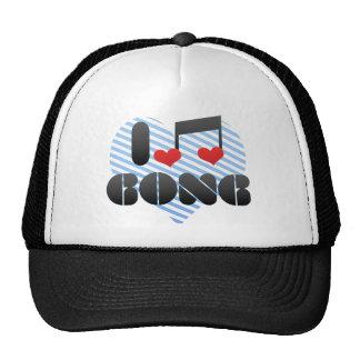I Love Gong Trucker Hat