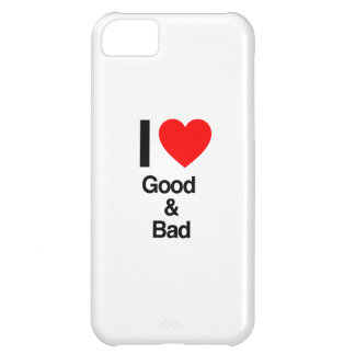 i love good and bad case for iPhone 5C