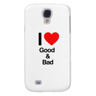 i love good and bad samsung galaxy s4 cases