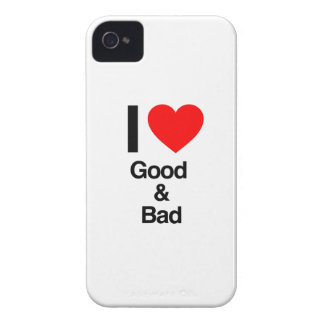 i love good and bad iPhone 4 case