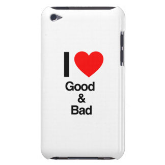i love good and bad iPod Case-Mate case