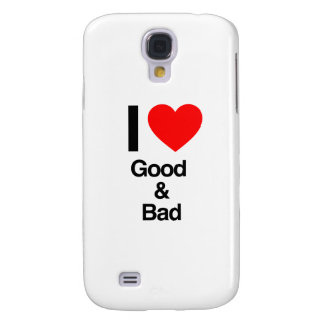 i love good and bad galaxy s4 cases