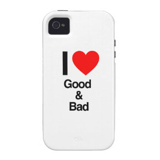 i love good and bad iPhone 4/4S covers