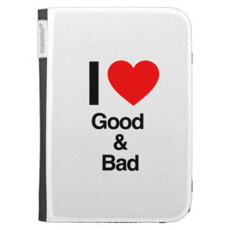i love good and bad kindle 3G cover