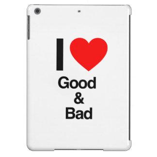i love good and bad iPad air covers