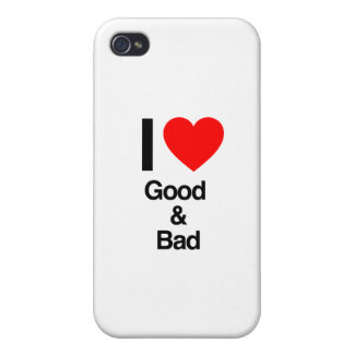 i love good and bad iPhone 4/4S cases