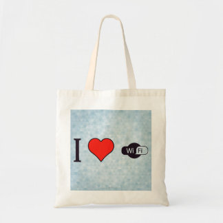 I Love Good Connectivity Tote Bag