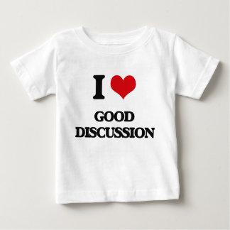 I love Good Discussion Infant T-shirt