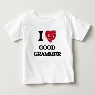 I Love Good Grammer Tee Shirts