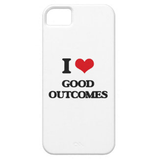 I love Good Outcomes iPhone 5 Cover