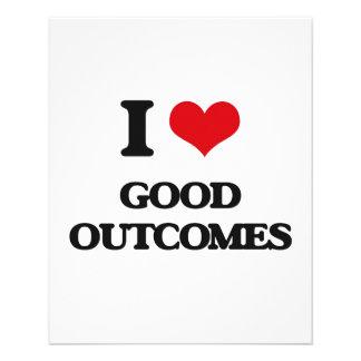 I love Good Outcomes Custom Flyer