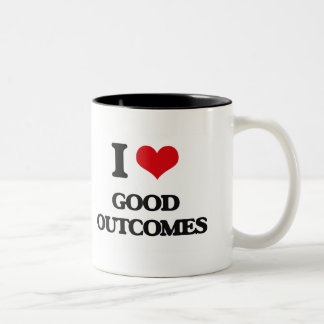 I love Good Outcomes Coffee Mug