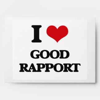 I love Good Rapport Envelope