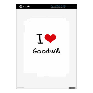 I Love Goodwill Decal For The iPad 2