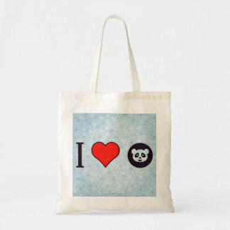 I Love Google Tote Bag