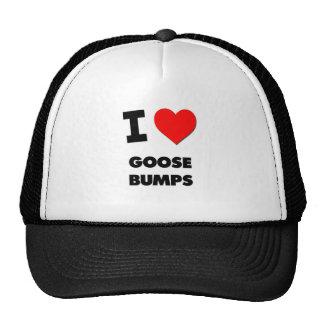 I Love Goose Bumps Mesh Hat