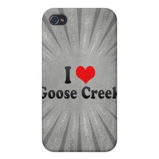 I Love Goose Creek, United States iPhone 4/4S Case