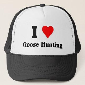 I love Goose Hunting Trucker Hat