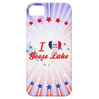 I Love Goose Lake, Iowa iPhone 5 Cover