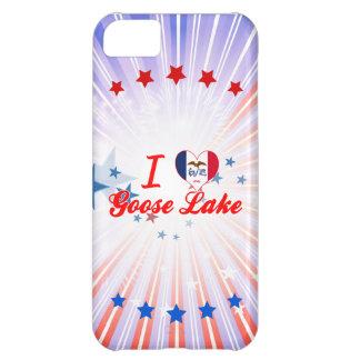 I Love Goose Lake, Iowa iPhone 5C Case