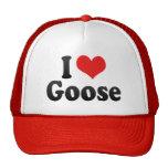I Love Goose Mesh Hat