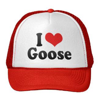 I Love Goose Trucker Hat