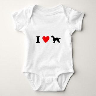 I Love Gordon Setters Baby Creeper