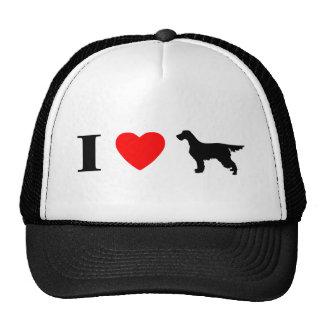 I Love Gordon Setters Hat