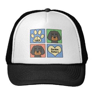 I Love Gordon Setters Trucker Hat
